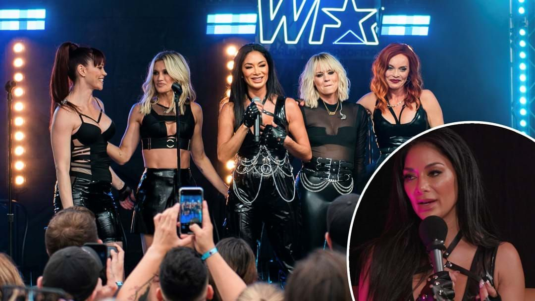 Article heading image for Nicole Scherzinger Reveals Pussycat Dolls 'Bootcamp' For Reunion Return