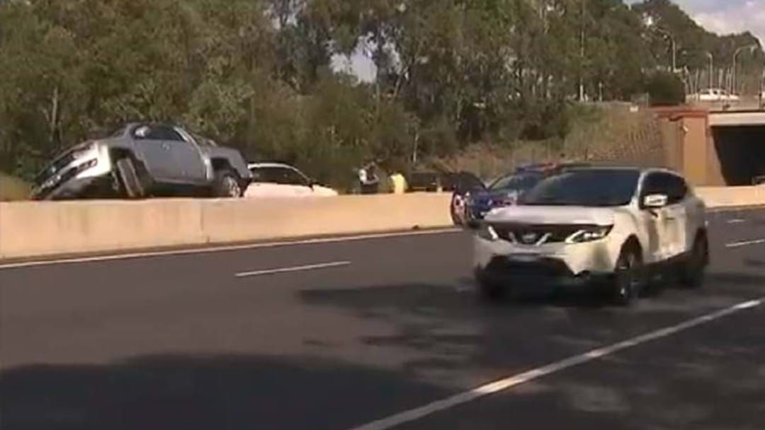 Article heading image for Bloke Drives 5km On The Wrong Side Of The Road Just To Avoid The Toll