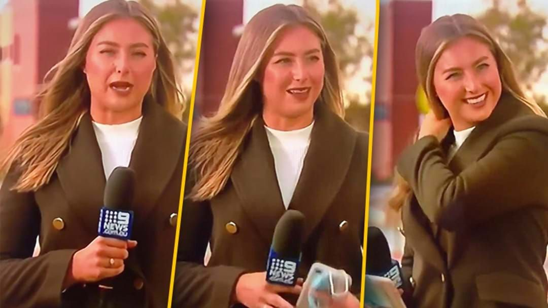 "Article heading image for Channel 9 Melbourne Accidentally Played Vision Of A Reporter Saying ""F**k My Life"" On The News Tonight"