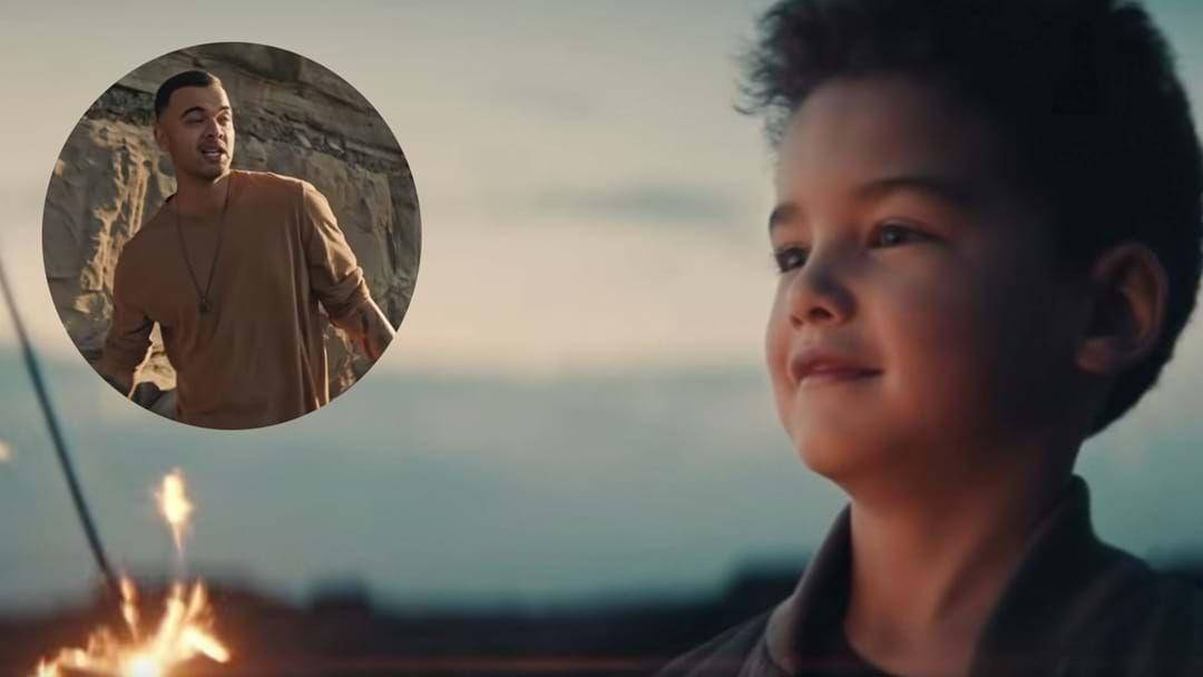Article heading image for See Guy Sebastian's Son Hudson Make His On Screen Debut!