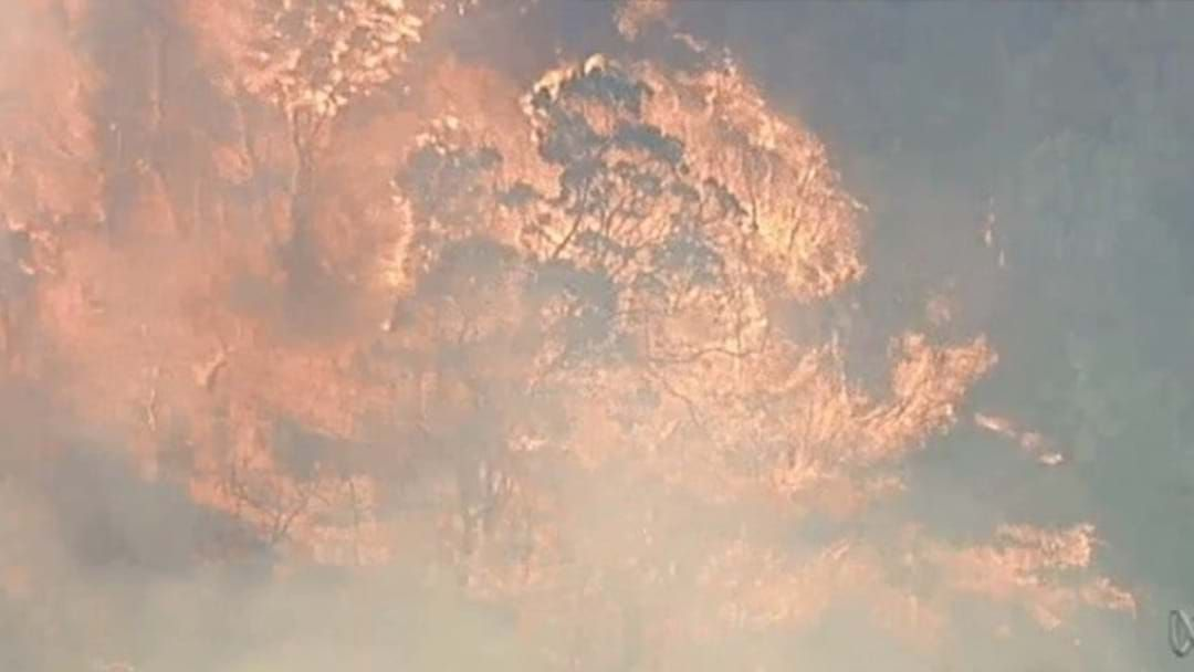 Article heading image for Homes Destroyed As Bushfire Continues To Rage Across Eastern Victoria