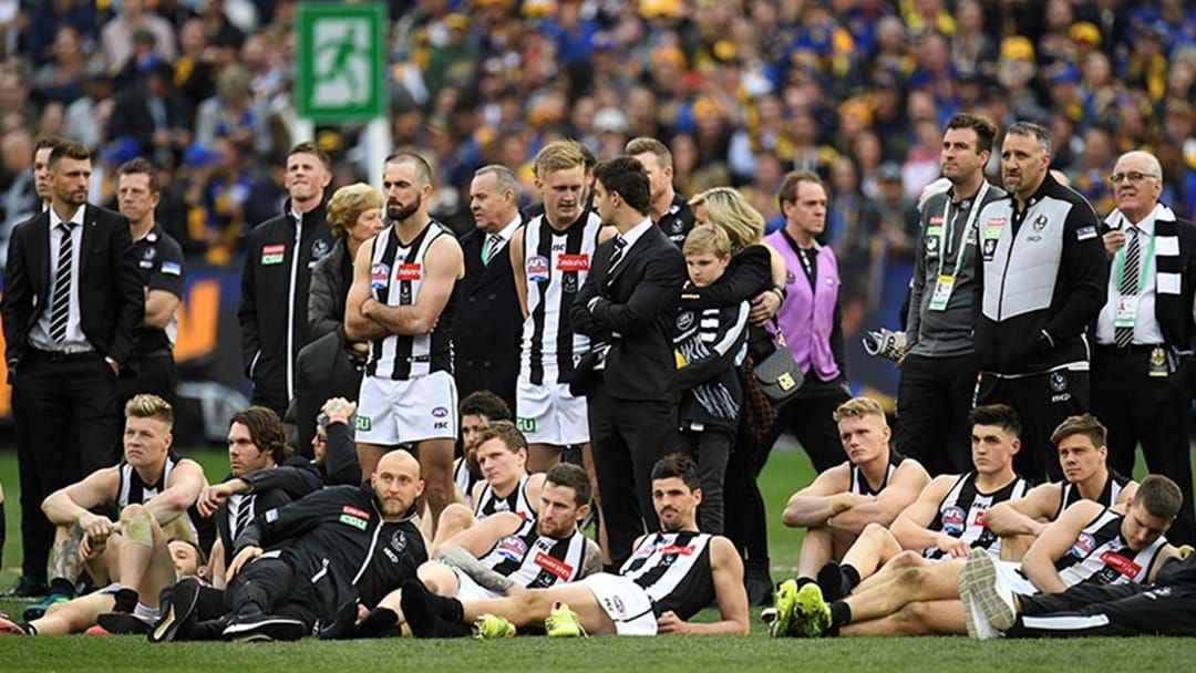 Article heading image for Tom Browne Says Collingwood Are Reviewing Their Grand Final Performance Today