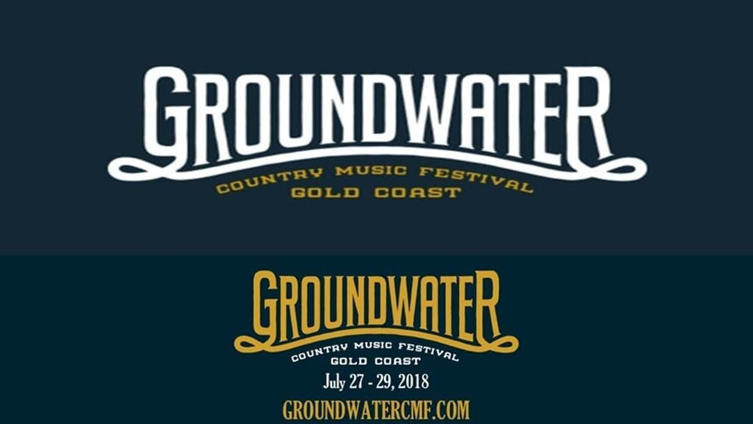 Article heading image for Groundwater Country Music Festival First Artist Line-up Announcement for 2018