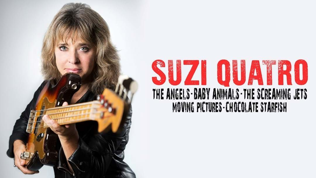 Article heading image for Suzi Quatro Comes To Wodonga in March For The Red Hot Summer Tour