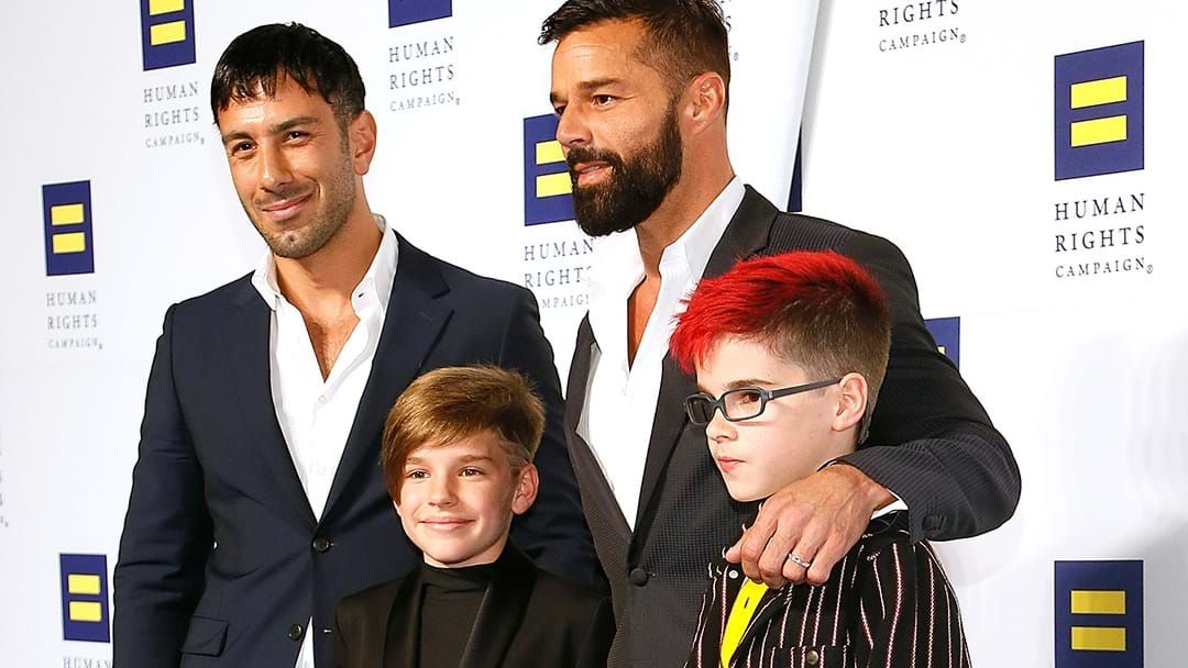 Article heading image for Ricky Martin Welcomes A Son Into His Family