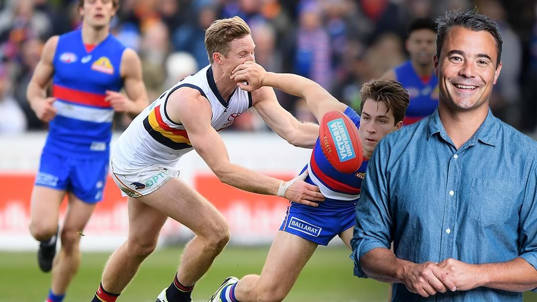 Article heading image for LISTEN | Jay Clark Says The Western Bulldogs Have A Huge War Chest To Spend This Trade Period