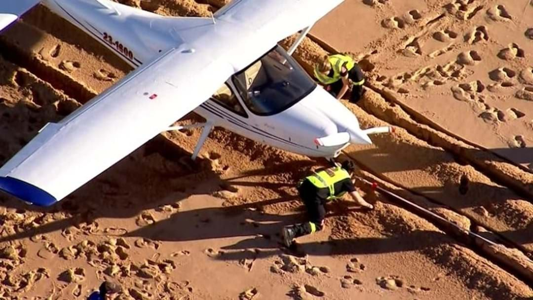 Article heading image for Emergency Plane Landing on Collaroy Beach