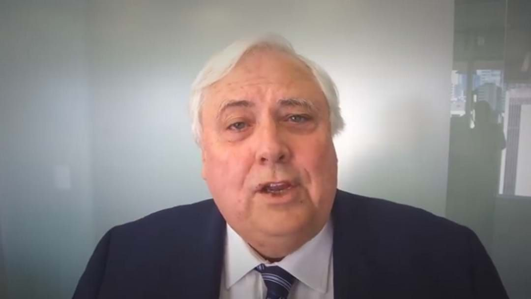 Article heading image for Clive Palmer Loses High Court Battle To Sue WA