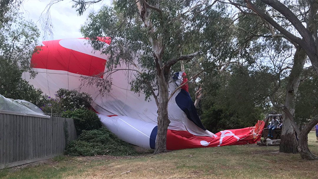 Article heading image for Two Hot Air Balloons Have Crash Landed In Melbourne This Morning