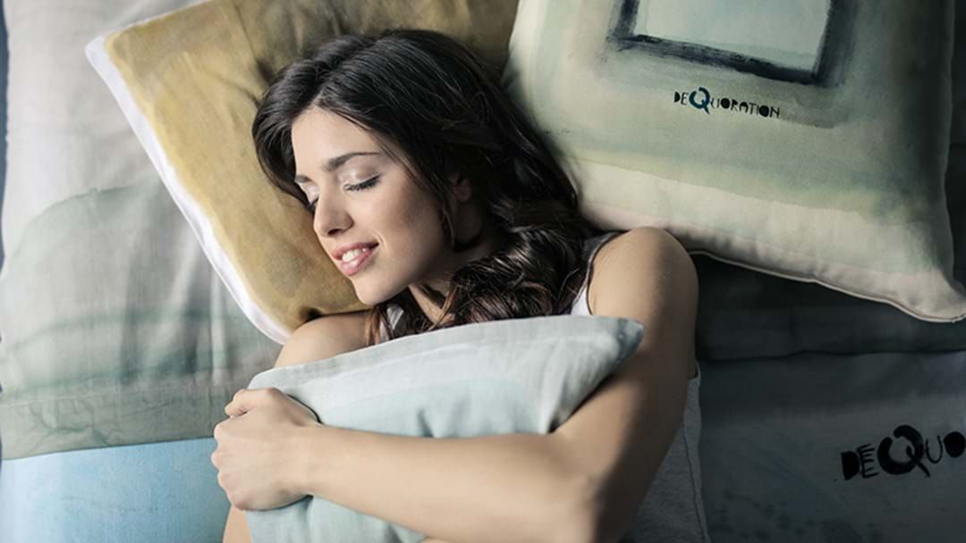 Article heading image for This Sleep Trick Will Help You Fall Asleep Faster Tonight
