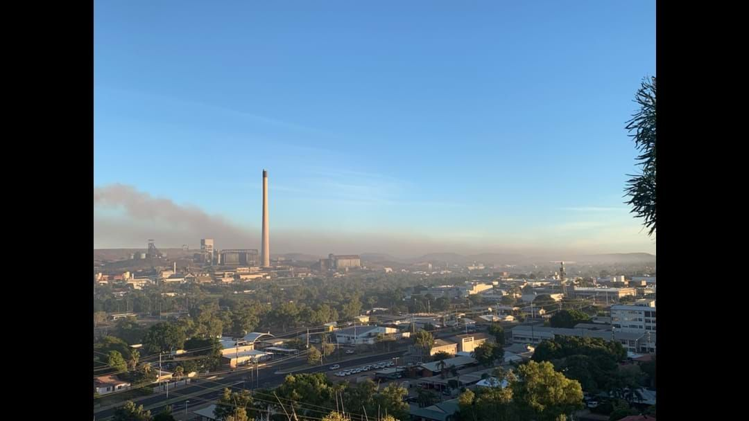 Article heading image for Smokey Scenes In Mount Isa This Morning