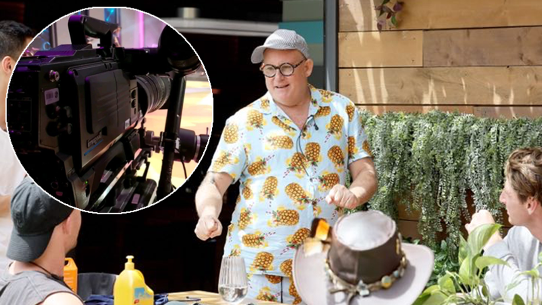 Article heading image for BIG BROTHER: Garth CONFIRMS They Can See The Camera Crew When They're Having a Juicy Conversation