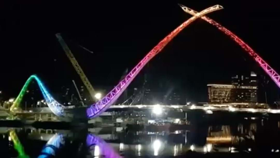 Article heading image for Is The Matagarup Bridge Super Close To Completion?