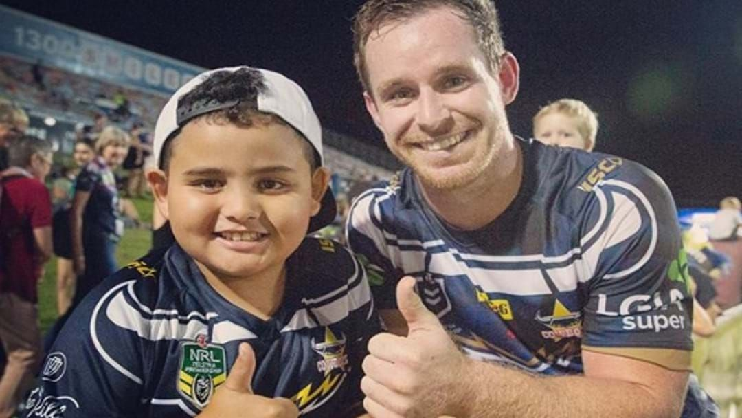 Article heading image for Morgz Proves He Has Greeny's Back After Another Slur From Laurie Daley