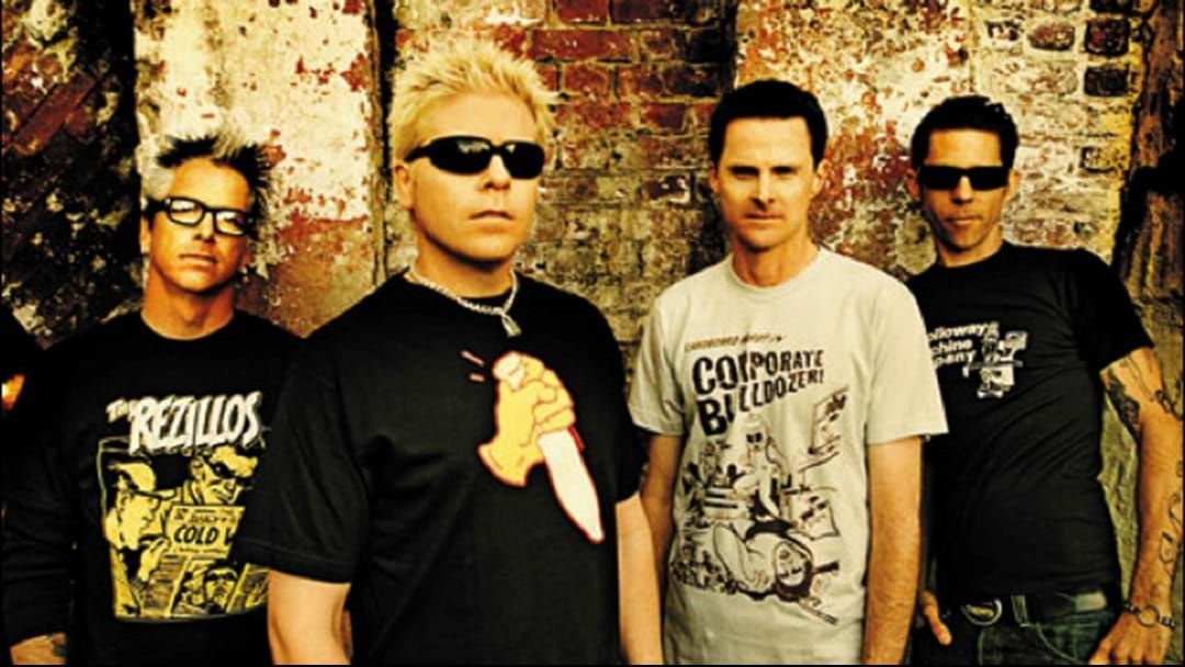 "Article heading image for The Offspring's Dexter Holland Says Their New Album Sounds ""Like Their Old S---"""