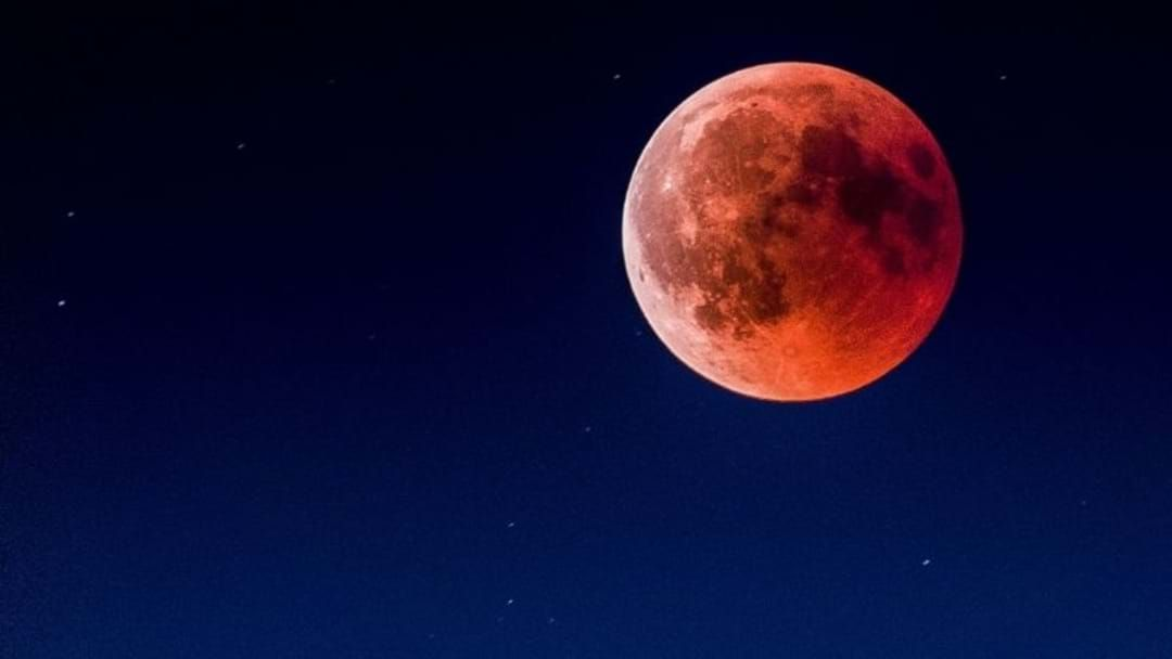 Article heading image for 'Super Blood Moon' to Haunt Australia on Wednesday Evening