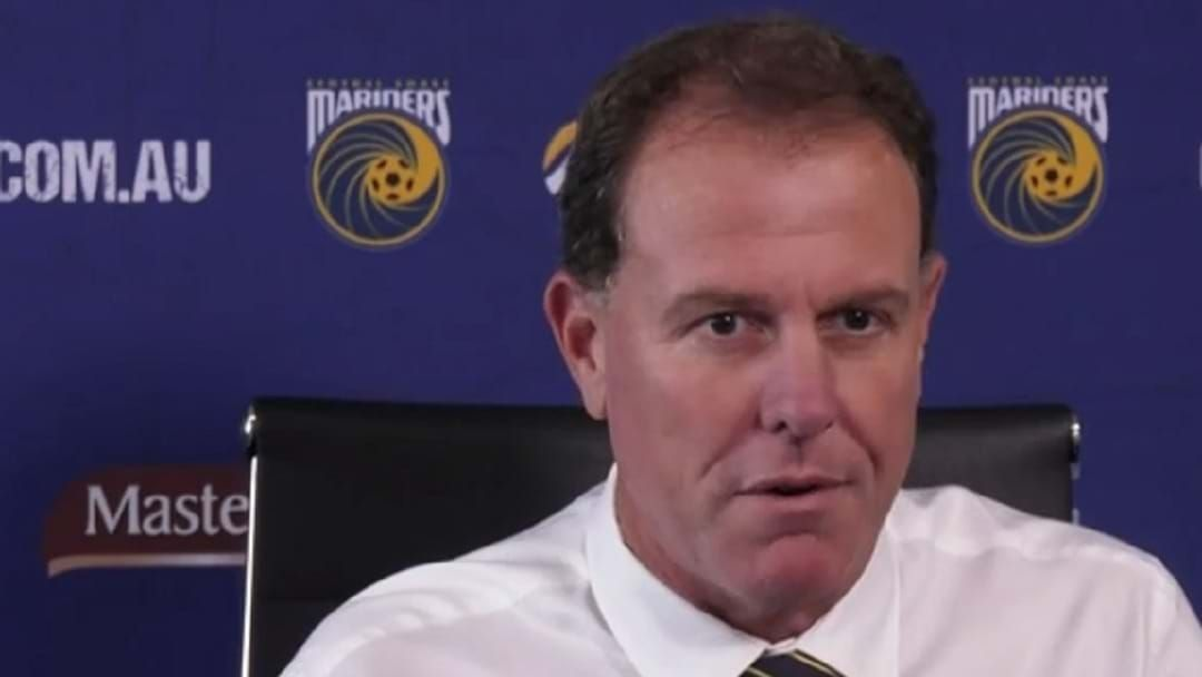 Article heading image for New Mariners Coach Alen Stajcic Tells Gawndy & Ash He's Here To Lift The Team