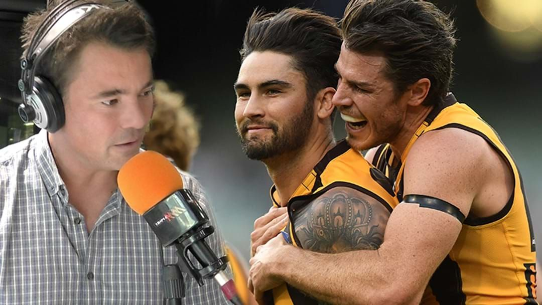 Article heading image for LISTEN | Jay Clark Drops Some Hawthorn Selection Mail Against Port Adelaide