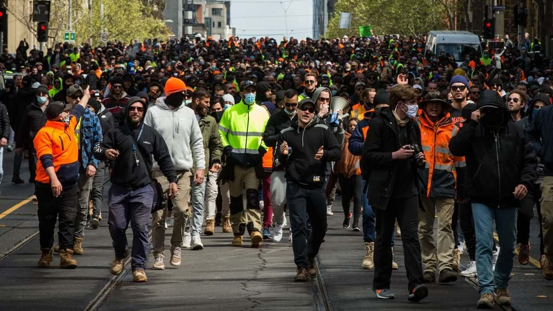 Article heading image for Fears Of A Positive Case Reported From The Melbourne Protests On Wednesday
