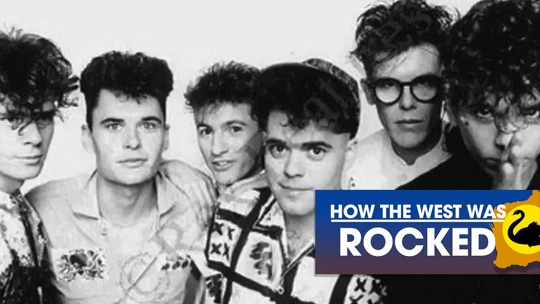 Article heading image for How The West Was Rocked: INXS