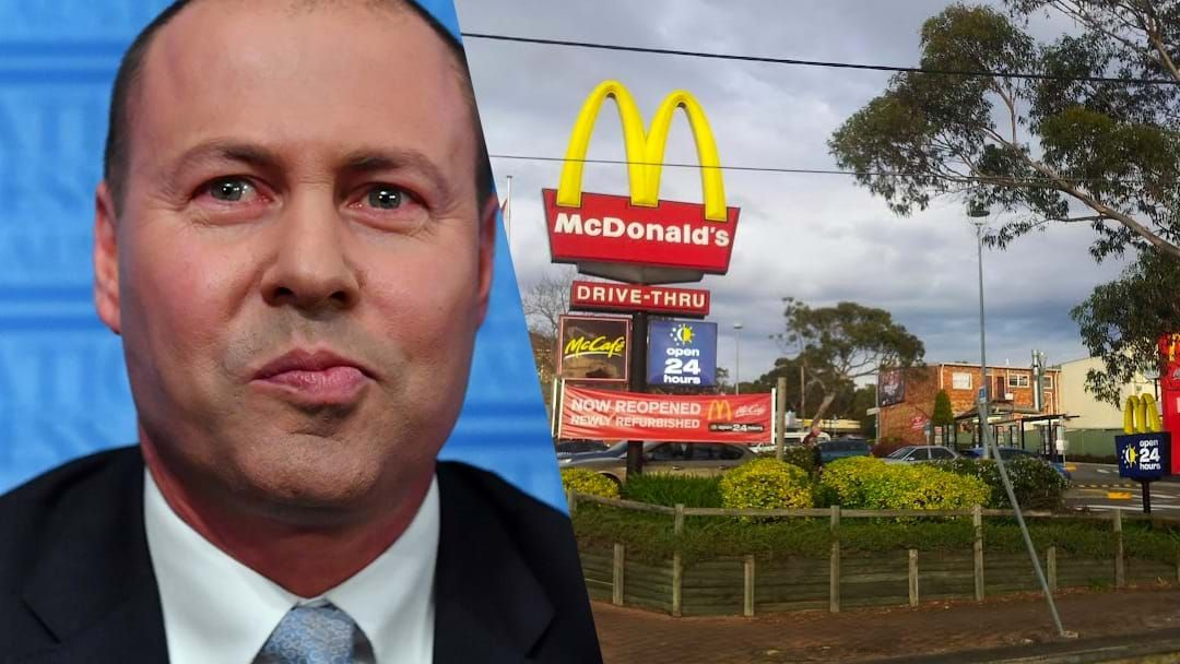 Article heading image for We Asked Treasurer Josh Frydenberg About The Infamous Engadine Maccas Incident in '97