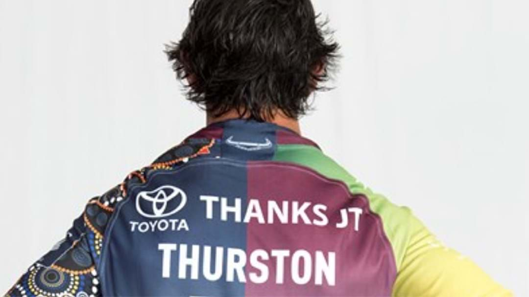 943cfad18 Article heading image for Cowboys Unveil Johnathan Thurston s Testimonial  Jersey