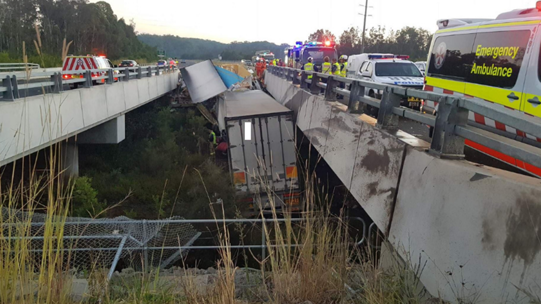 Article heading image for TRAFFIC ALERT: Fatal Truck Crash on Pacific Highway