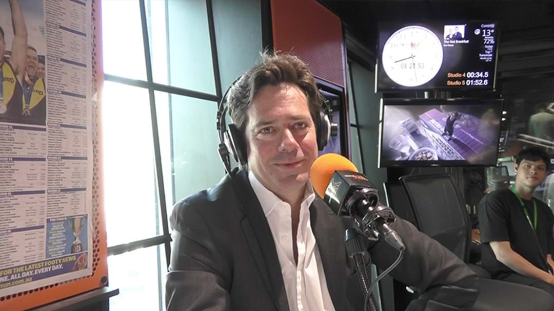 Article heading image for Gil McLachlan Addresses His Future As AFL CEO
