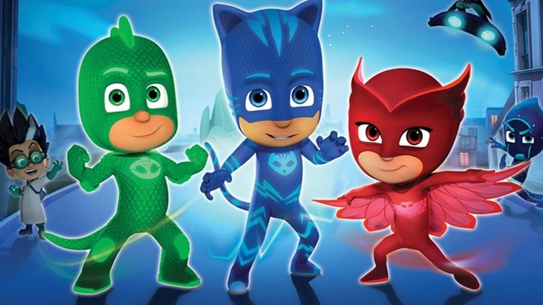Article heading image for Brace Yourselves Kids – PJ Masks Are In Toowoomba This Weekend!