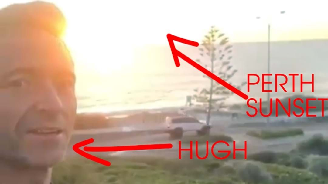 Article heading image for The Big Breakfast Are Stumped… Where Did Hugh Jackman Shoot THAT Perth Video?