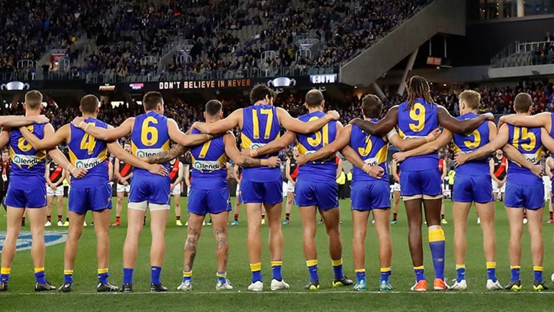 Article heading image for West Coast Eagles Officially Have A New Club Song Made By The Birds Of Tokyo