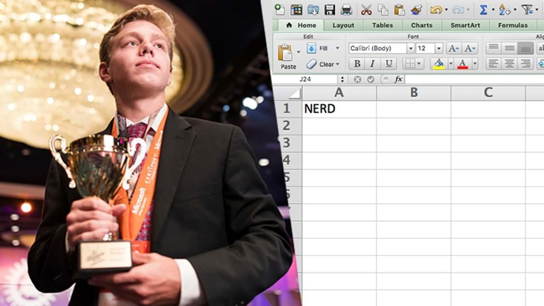 Article heading image for There's A World Championships For Excel Spreadsheets