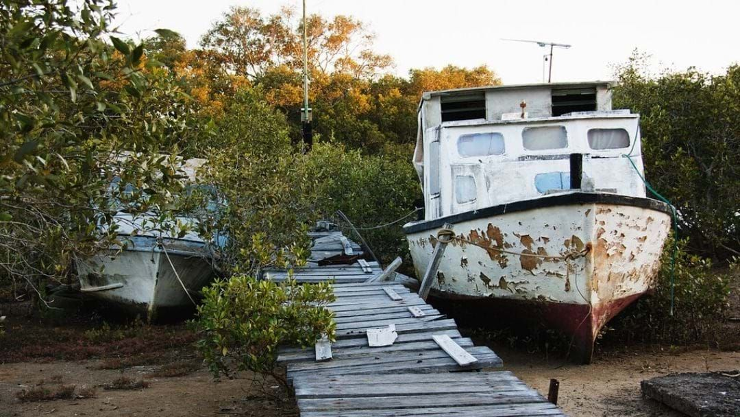 Article heading image for Apparently There's A Million Dollar Task Force Dragging Old Boats Out Of QLD Waters...