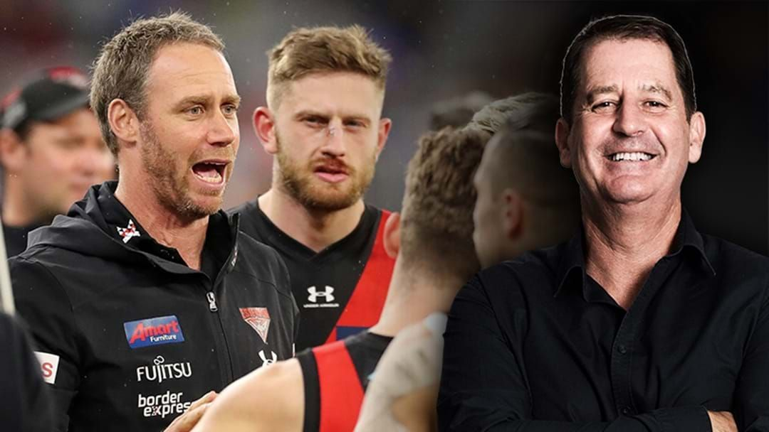 Article heading image for Ross Lyon Explains How The Coaching Change At Essendon Has Helped Turn Their Form Around