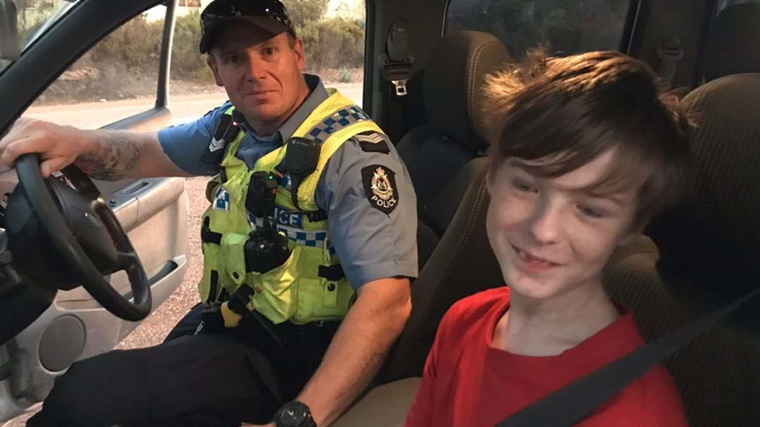 Article heading image for 12-Year-Old Boy Was Forced To Drive Through Raging Bushfire To Save Himself And His Dog