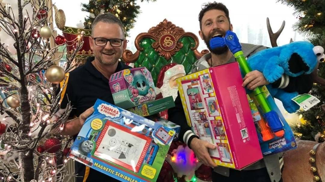 Article heading image for Donate Gifts To Kids Less Fortunate For Hit Bendigo's HITMAS!