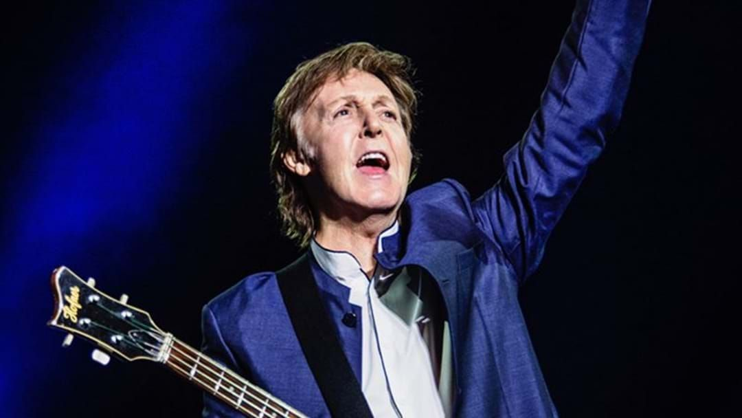 Article heading image for Paul McCartney Gives Aussie Fans More