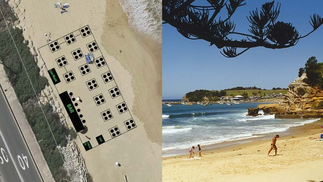 Article heading image for A Beach Bar Could Be Coming To Terrigal