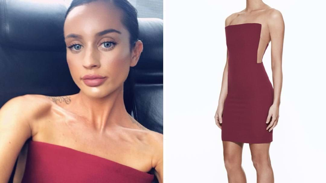 Article heading image for The Square-y Dress Ines Wore At The MAFS Reunion Has Sold Out!