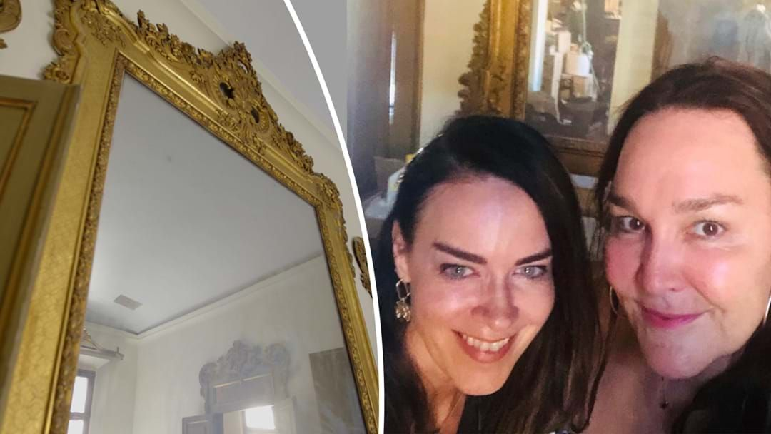 Article heading image for Unexplainable Figures Appear in The Reflection of This 300-Year-Old Mirror in Italy!