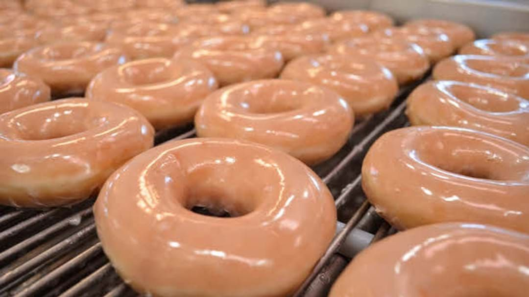 Article heading image for Krispy Kreme Is Dishing Out 100,000 Free Original Glazed Doughnuts Today
