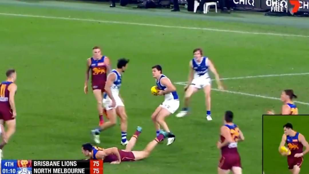 Article heading image for AFL Confirm That The Free Kick To Oscar McInerney Was The Wrong Decision