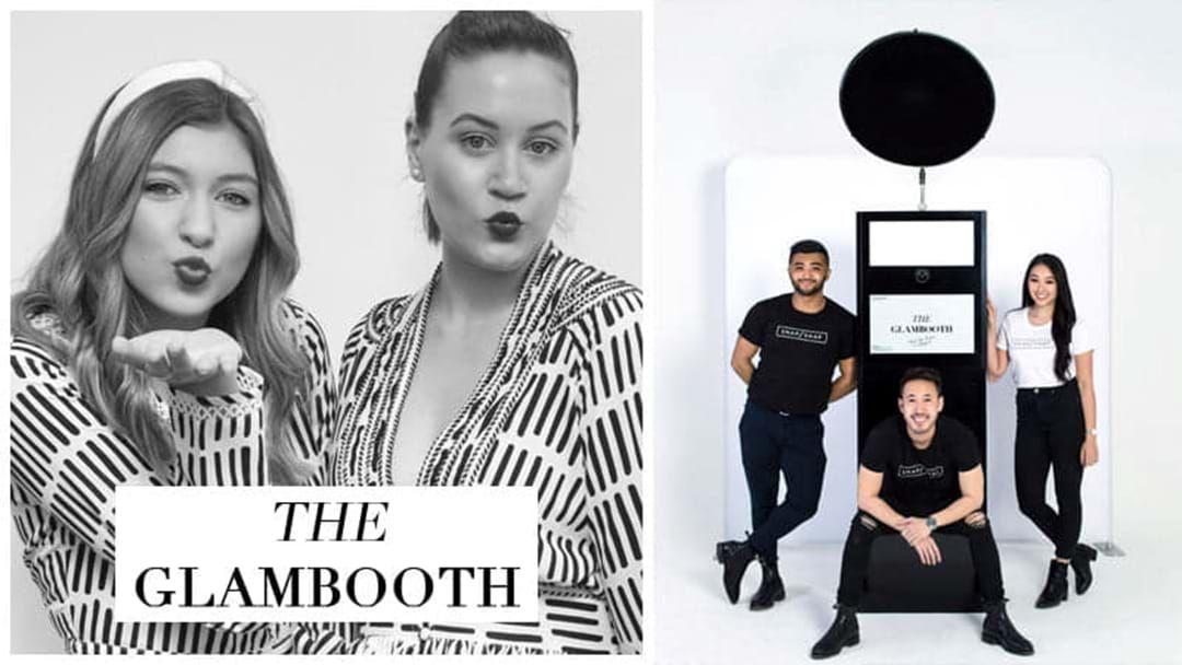 Article heading image for Local Photobooth Company SNAP/SNAP Launches Glambooth