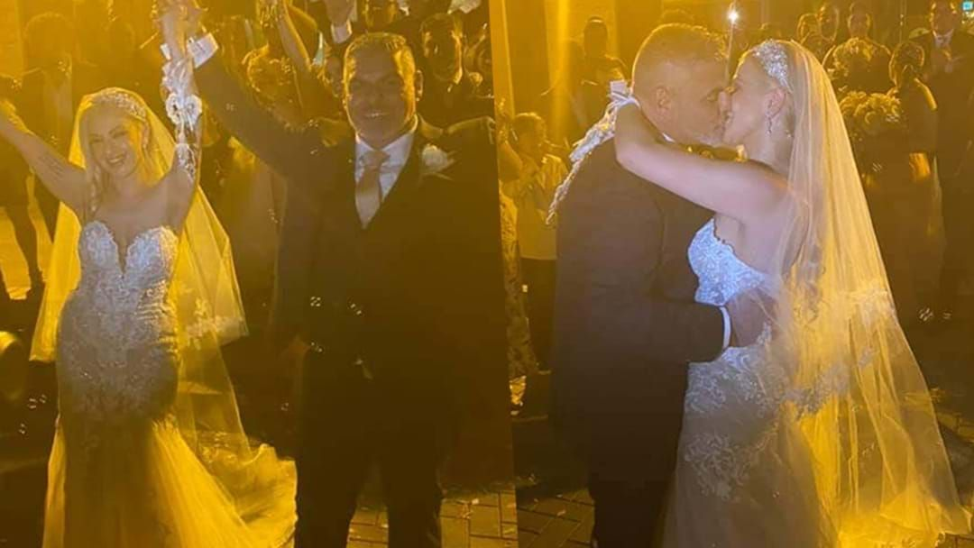 Article heading image for SA Bride Opens Up About The Emotional Moment She Managed To Rearrange Wedding Just Before Lockdown