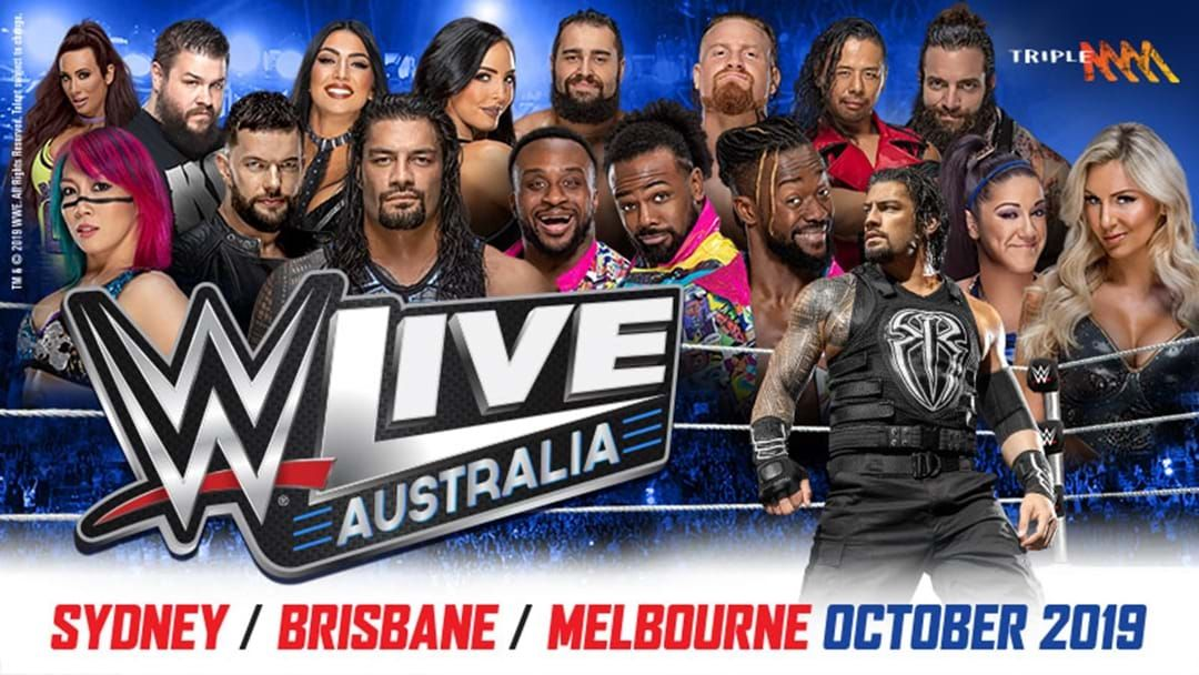Article heading image for WWE Live Returns To Aus This October!