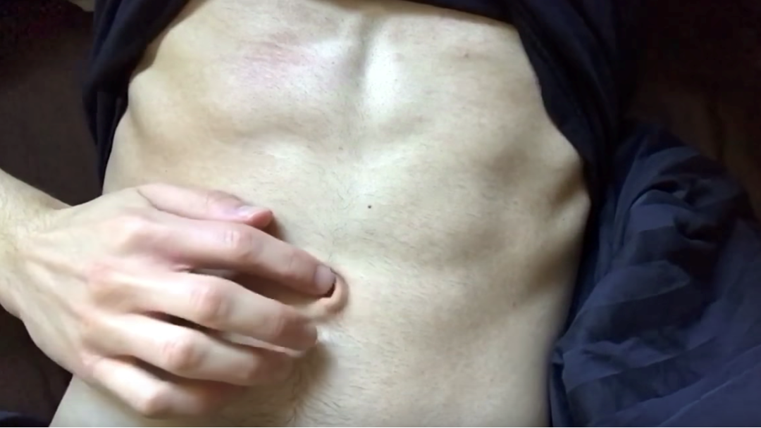 Article heading image for Check Out This Bloke's 2.5cm Outie Belly Button If You Dare