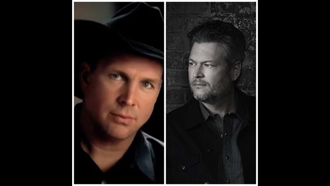 "Article heading image for  Garth Brooks and Blake Shelton Team Up to Give Us ""Dive Bar"""