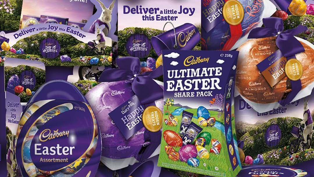 """Article heading image for  No, Cadbury Hasn't Taken The Word """"Easter"""" Off Their Eggs This Year"""