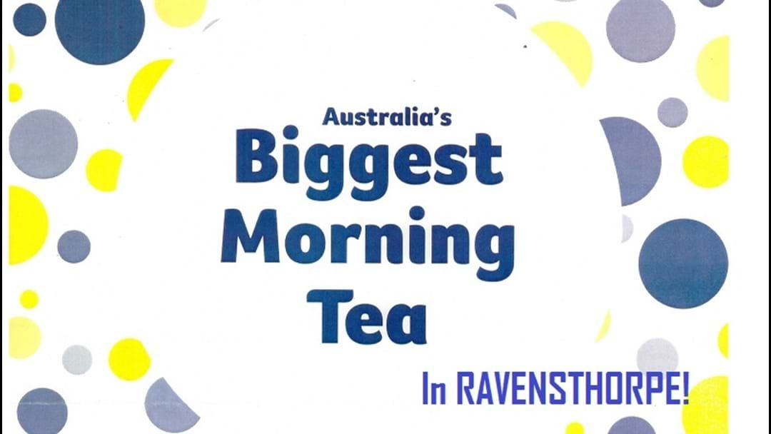 Article heading image for Australia's Biggest Morning Tea in Ravensthorpe
