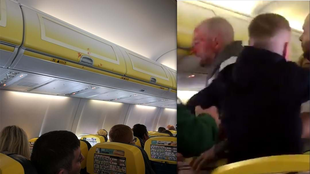 "Article heading image for Bloke Has ""Nose Bitten Off"" During Brutal Brawl On Flight"